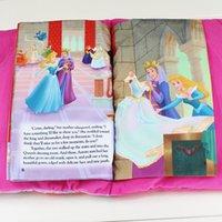 beauty development - Princess Sleeping Beauty Tale Talking Plush Book Cloth Book Kids Early Development Cloth Books Toys pages EMS