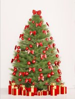 berry paper - 200cm cm ft ft Background Christmas tree Red Berries vinyl photography backdrops photo studio