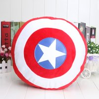 Wholesale The Avengers Movie quot Captain America Attack Shield Plush Toys Cushion Pillow Toy