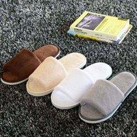 Wholesale Men Women Anti slip Soft Warm House Indoor Slippers Coral Fleece Home Slippers Spring Autumn Flush Warming Chinelos Pair