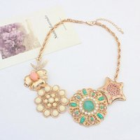 South American american the beautiful - statement necklaces for women necklaces set long choker drop shipping cheap jewelry body chain Europe and America the beautiful exo