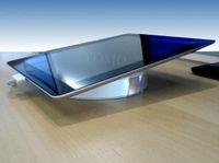 acrylic display pedestals - iPad Acrylic Pedestal Base iPad Acrylic Security display Holder