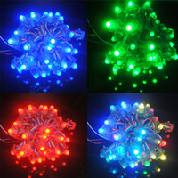 Wholesale LED Lighting Modules F8 rgb mm full color IP68 waterproof WS2811 led pixel light
