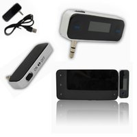 Wholesale Top Quality New mm In car Fm Transmitter For iPhone S C S iPod Touch G G Galaxy S4 S3