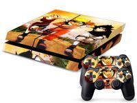 Cheap Naruto Uzumaki 0087 DECAL SKIN PROTECTIVE STICKER for SONY PS4 CONSOLE CONTROLL