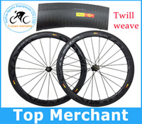 racing bicycle - Mavic cosmic wheels full carbon road bike wheels mm rim mm width twill weave bicycle wheelset C Racing bicycle wheels mm rim