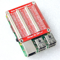 Wholesale Raspberry Pi model B B Triple GPIO Multiplexing Expansion Board Multiplex Extend Module Multiplex Plate fast shipp By DHL