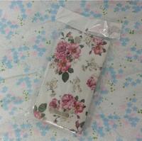 Cubierta de cuero de lujo de la carpeta con 2 titulares de tarjetas para TCL S860 Alcatel One Touch Ídolo Alfa 6032 6032A cubierta del teléfono celular de la caja (A0338)