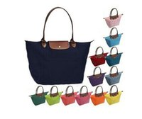 Wholesale 2014 New All Colors Tote bags long Folding package M L XL Women s Bags champagne bags