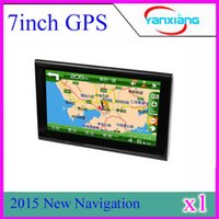 Wholesale 7 inch Car GPS Navigation Build GB Map Latest Map MP3 MP4 FM car GPS ZY DH