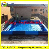 Cheap Inflatable pools inflatable swimming pools for adults and kids back yard water pool