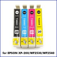 Wholesale 4Pcs Pack Compatible Ink Cartridge T2001 T2002 T2003 T2004 for Epson XP WF Printer