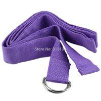 Yoga Balls BPG000201 Yoga Stretch Belt Strap 1 pcs High Quality Yoga Stretch Strap D-Ring Belt Figure Waist Leg Fitness Exercise Gym resistance band Free Shipping