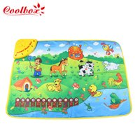 animal piano games - Coolbox CB1313NC x50cm Music Animal Voice Singing Piano Farm baby play gym mat baby game carpet dropping