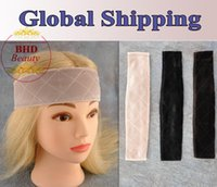 Cheap FlexibleVelvet Wig Grip Scarf Head Hair Band Adjustable Fastern Wig 3 color