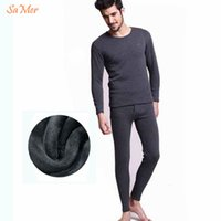 big and tall long johns - 6xl xl Plus Size Add Wool Warm Winter Men Thermal Underwear Polartec Cotton Big And Tall Extreme Cold Merino Wool Long John