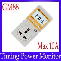 Wholesale Mini digital Wattmeter GM88 Max A with buzzer