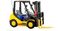 applications of plastics - Children channel wireless remote control forklift electric toys are not limited to the application of the crowd