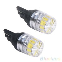 Wholesale 2 x New White T10 T15 SMD LED Car Vehicle Side Tail Lights Bulbs Lamp MYH