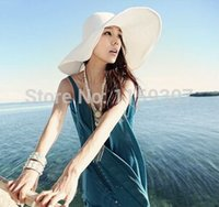 Cheap Wide Brim Hat straw hats Best Pink Casual sun hat