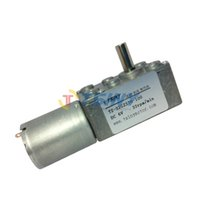 Wholesale DC V rpm kg cm gear motor pmdc worm geared motor with gear reducer gear box
