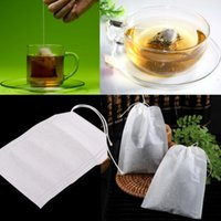 Wholesale Newest x cm Empty Teabags String Heat Seal Filter Paper Herb Loose Tea Box Bag east