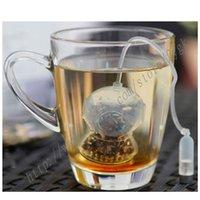 bag filter tank - 2016 Hot Sale Deep sea Diver Tea Infuser Silicone loose leaves tea Bag Mug Filter Strainer air tank Coffee Tea Tools
