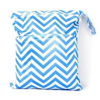 chevron diaper bag - 32 patterns Wet Bag Chevron Print Zippered Compartments Waterproof Great For Cloth Diapers More Wet Dry Bag