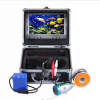 Wholesale 7 quot TFT LCD Monitor TVL Portable Night Vision Underwater Fishing Camera Fish Finder M Cable Fishing Finder