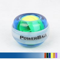 Wholesale Sports and Spinner Gyroscopic Fitness Powerball LED Wrist Strengthener with Counter for Wrist and Forearm Exerciser Force Power Ball