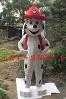Wholesale Marshall Dog mascot costume character adult size manufacturers Fancy Costume Halloween Party dress