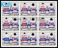 Enfants 2,016 NOUVEAU Stadium Series Montreal Canadiens Jersey Hockey sur glace dentelle Carey Price PK Subban Max Pacioretty Gallagher Galchenyuk