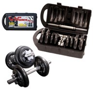 dumbbells - Cap Barbell Pound Dumbbell Set Adjustable Weight Plates