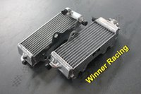 Cheap aluminum radiator for Yamaha YZ125 YZ 125 2-stroke 1996 - 2001 1997 1998 1999 2000 Left + Right