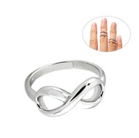 Wholesale Beadsnice Infinity Rings Silver Ring for Women Unique Silver Rings Best Gift for Her Jewelry Rings ID