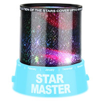 Wholesale 2015 Christmas Romantic Blue Amazing Master Star Sky Universal Night Light Kid Chidren Projector Christmas Gift Present