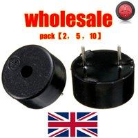Wholesale 14 x mm Pins Passive Electronic Piezoelectric Piezo Buzzer DC V Black order lt no track