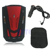 Wholesale Degree Car Speed Limited Detection Voice Alert Anti Radar Detector With Red