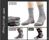 Wholesale The new cycling socks men sport terry socks shock quick drying antibacterial perspiration mountaineering stockings