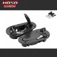Wholesale HOSO RACING D1Generation Car Bonnet Universal Carbon style Hood Pin Lock Kit Piece Set