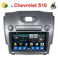 autoradio double din gps - Android Double din Headrest car dvd player for Chevrolet S10 Navigation GPS Radio TV G WIFI AUX inch autoradio car stereo
