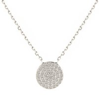 Wholesale US Market Best Selling Fashion Luxury CZ Diamond Micro Paved Sterling Silver Wedding Pendant Necklaces FreeShipping In Lucky Sonny Store