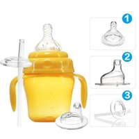 sippy cups - BabyGuard Baby Sippy Cup Baby Drinking Suppliers ML Baby Sippy Training Drinking Cup Suit with Handle and Straw stages F608