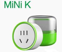 Wholesale Smart Wifi Plug Socket Remote Control Plug Socket Intelligent Smart Device MINI K Socket Plug Andoid ios App White Color