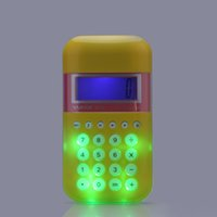 Wholesale Mini Cute quot LCD Digit Digital Handheld Display Flash Calculator School Student order lt no track
