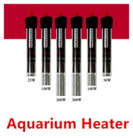 Wholesale 25w w w w w Aquarium Heater Durable Submersible heater Heating Rod for Aquarium Glass Fish Tank Temp