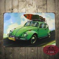 antique car art - The Green car Tin Sign Gas Oil Hot Rod Rat Rod Street Rod Garage Art Mix order