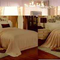 Wholesale Luxury high grade Natural Mulberry Silk Comforter Twin Queen King Full size Duvet Blanket Quilt Filler Brand
