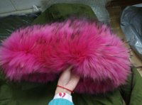 big rabbit pictures - Live picture rosepink furs jackets Mr Mrs Pakras lined with rabbit fur parka hood with Big szie raccoon fur