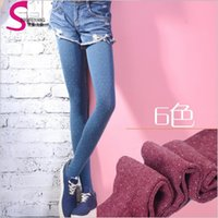 adult ballet tights - 50 TOPB4454 candy color women fashion Stretch Velvet Tights Socks Stocking slim dot Pantyhose adult Ballet dance wear leggings leg warmers